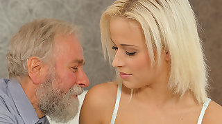 DADDY4K. Aged and 18 duration venerable intimacy experiment is a birthday...