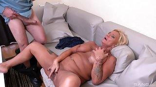 Bereny Szabo Anett is the uncompromised master of sucking and jumping out of reach of a cock