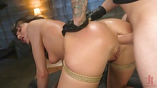 Vera King loves being tied up and tortured by her boyfriend
