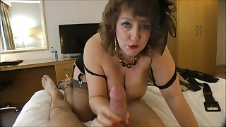 Hot retro-style MILF hot porn video